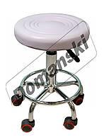 Стульчик мастера, стул на колёсиках с регулировкой по высоте. от Domanski мебель.