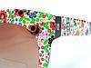 Солнцезащитные очки в стиле D&G цветочная мозаика. шоколад, фото 2