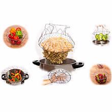Складная универсальная решетка для приготовления пищи  Шеф Баскет Chef Basket
