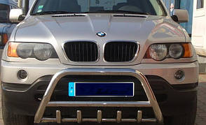 Кенгурин из нержавейки для BMW X5 (00-06)
