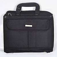 Чорна сумка для ноутбука фірми JIA JUN