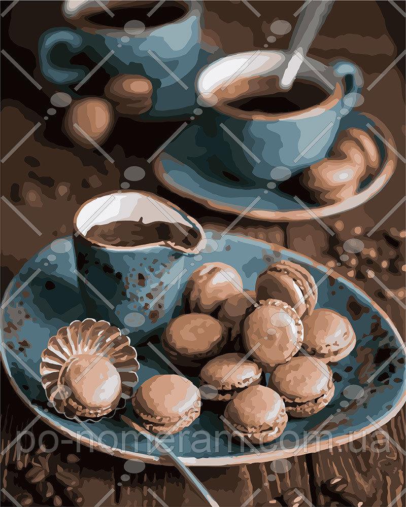 Картина по номерам Утренний кофе 40 х 50 см (KH5550)