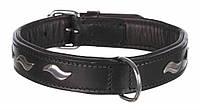 Trixie (Трикси) Active Кожаный ошейник для собак M-L (42-48 см / 25 мм)