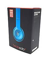 Наушники MONSTER Beats Solo 2 (с оголовьем) Blue