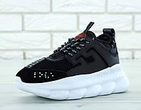 Кроссовки Versace Chain Reaction Sneakers (реплика А+++ )