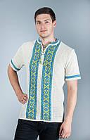 Мужская вязаная вышивака
