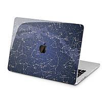 Чехол пластиковый для Apple MacBook (Созвездия паттерн) модели Air Pro Retina 11 12 13 15 2015 2016 2017 2018 эпл макбук эйр про ретина case hard
