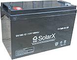 Гелевый аккумулятор SolarX SXG100-12 (12V 100Ah), фото 2