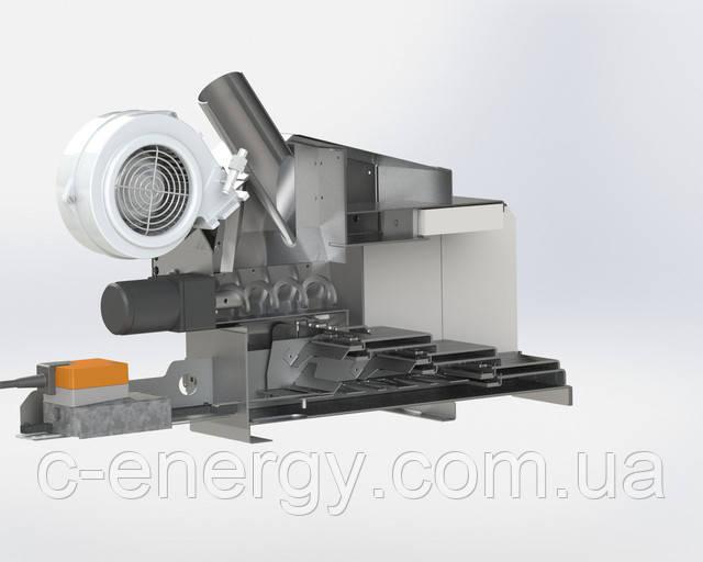 Пеллетная горПеллетная горелка для твердотопливного котла БиоПРОМ AIR PELLET CERAMIC