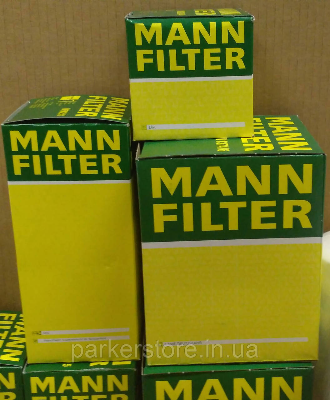 MANN FILTER / Повітряний фільтр / C 911 x-2 / C911x-2