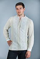 Мужская вязаная рубашка