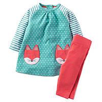 Детский костюм для девочки 2 в 1 Лиса Jumping Meters