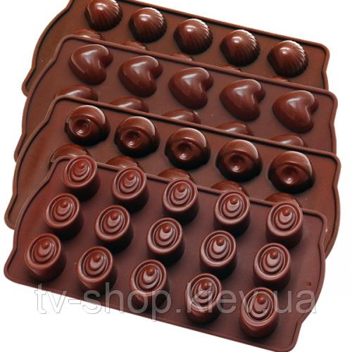 Форма для шоколадных конфет Ассорти