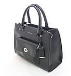 Женская черная сумка David Jones (038) , фото 2
