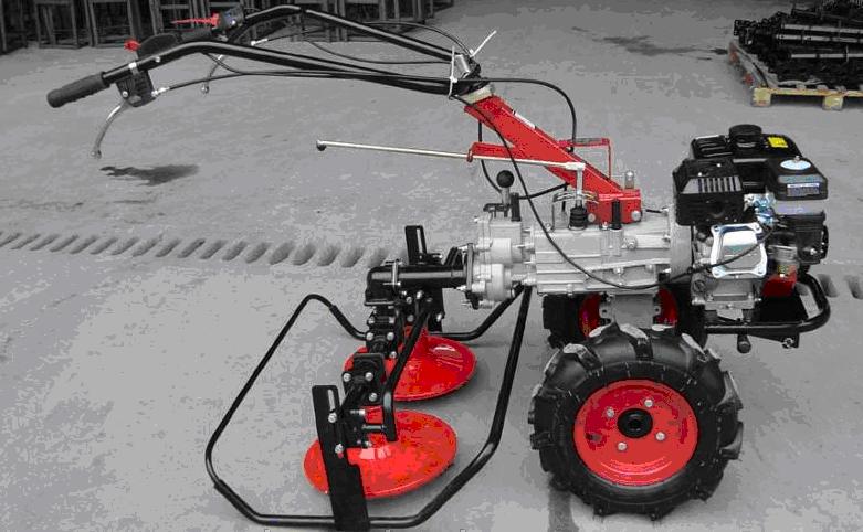 Косилка роторная под ВОМ КР-02 Шип (для МБ воздушного охлаждения)