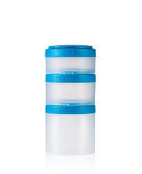 Контейнер спортивный BlenderBottle Expansion Pak Clear-Aqua, Original - 145195