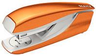 Степлер Leitz WOW (скобы №24/6; 26/6), 30 листов, оранжевый металлик (5502-10-44)