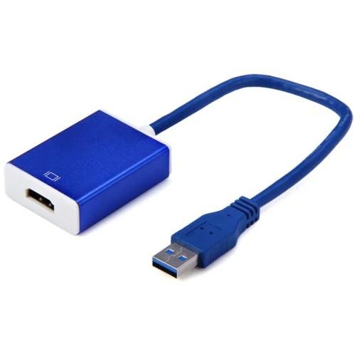Конвертер-адаптер USB 3.0 to HDMI 1080р HD (внешняя видеокарта)