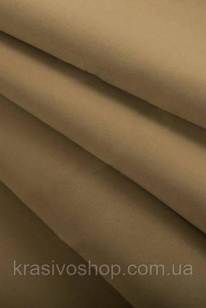 Ткань  блекаут   однотонный карамель