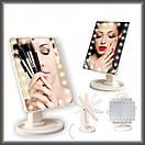 Зеркало с подсветкой 22 LED белое , фото 2
