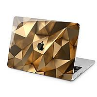 Чехол пластиковый для Apple MacBook (Золотая текстура) модели Air Pro Retina 11 12 13 15 2015 2016 2017 2018 эпл макбук эйр про ретина case hard cover