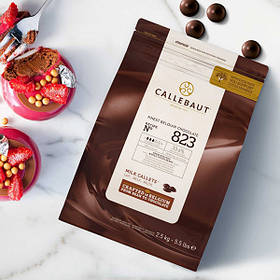 Молочний шоколад Callebaut Select 823-Е4-U71 ( 8 x 2.5 кг )