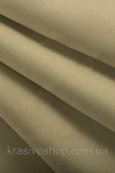 Ткань  блекаут   однотонный бежевый