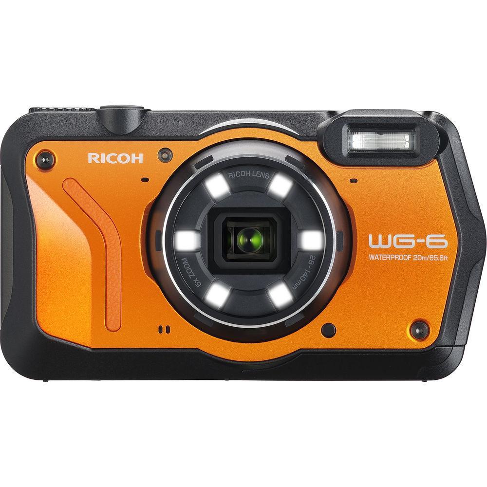 Защищённая компактная камера RICOH WG-6 Orange / на складе