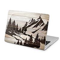 Чехол пластиковый для Apple MacBook (Горный лес) модели Air Pro Retina 11 12 13 15 2015 2016 2017 2018 эпл макбук эйр про ретина case hard cover