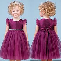 Блестящее бордовое платье zironka