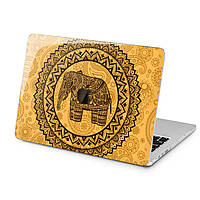 Чехол пластиковый для Apple MacBook (Индийский слон) модели Air Pro Retina 11 12 13 15 2015 2016 2017 2018 эпл макбук эйр про ретина case hard cover