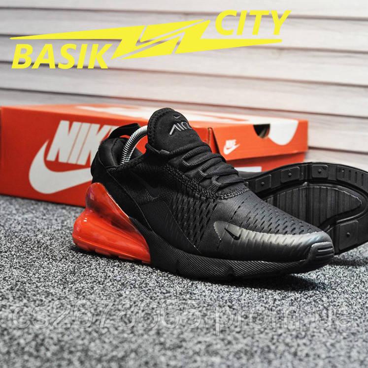 Мужские кроссовки Nike Air Max 270 Black Red