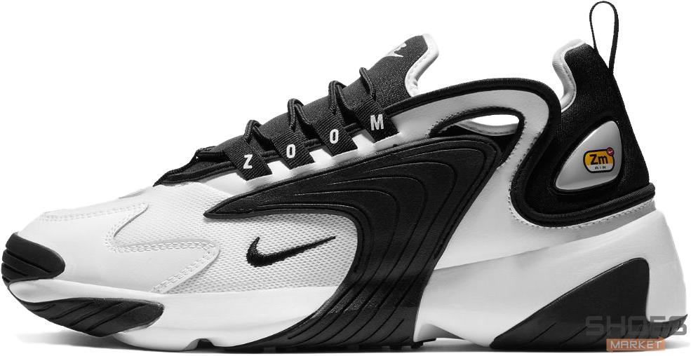 Женские кроссовки Nike Zoom 2K White Black AO0269-101, Найк Зум 2К
