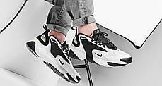 Женские кроссовки Nike Zoom 2K White Black AO0269-101, Найк Зум 2К, фото 2
