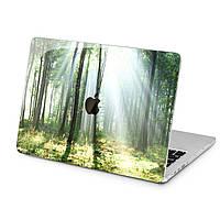 Чехол пластиковый для Apple MacBook (Весенний лес) модели Air Pro Retina 11 12 13 15 2015 2016 2017 2018 эпл макбук эйр про ретина case hard cover