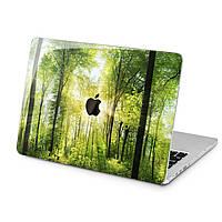 Чехол пластиковый для Apple MacBook (Солнечный лес) модели Air Pro Retina 11 12 13 15 2015 2016 2017 2018 эпл макбук эйр про ретина case hard cover