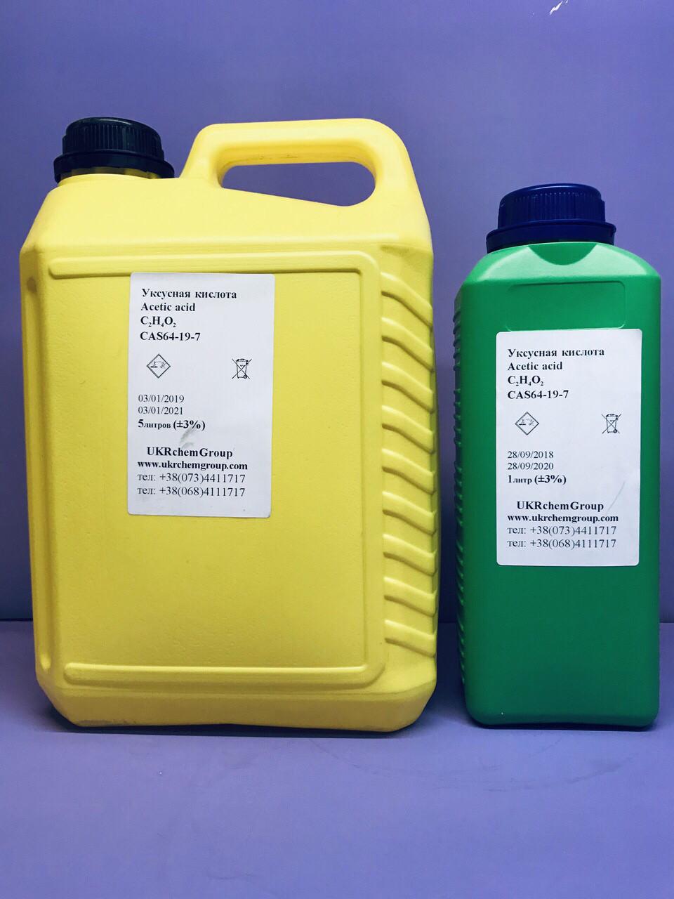 Уксусная кислота  Acetic acid C2H4O2