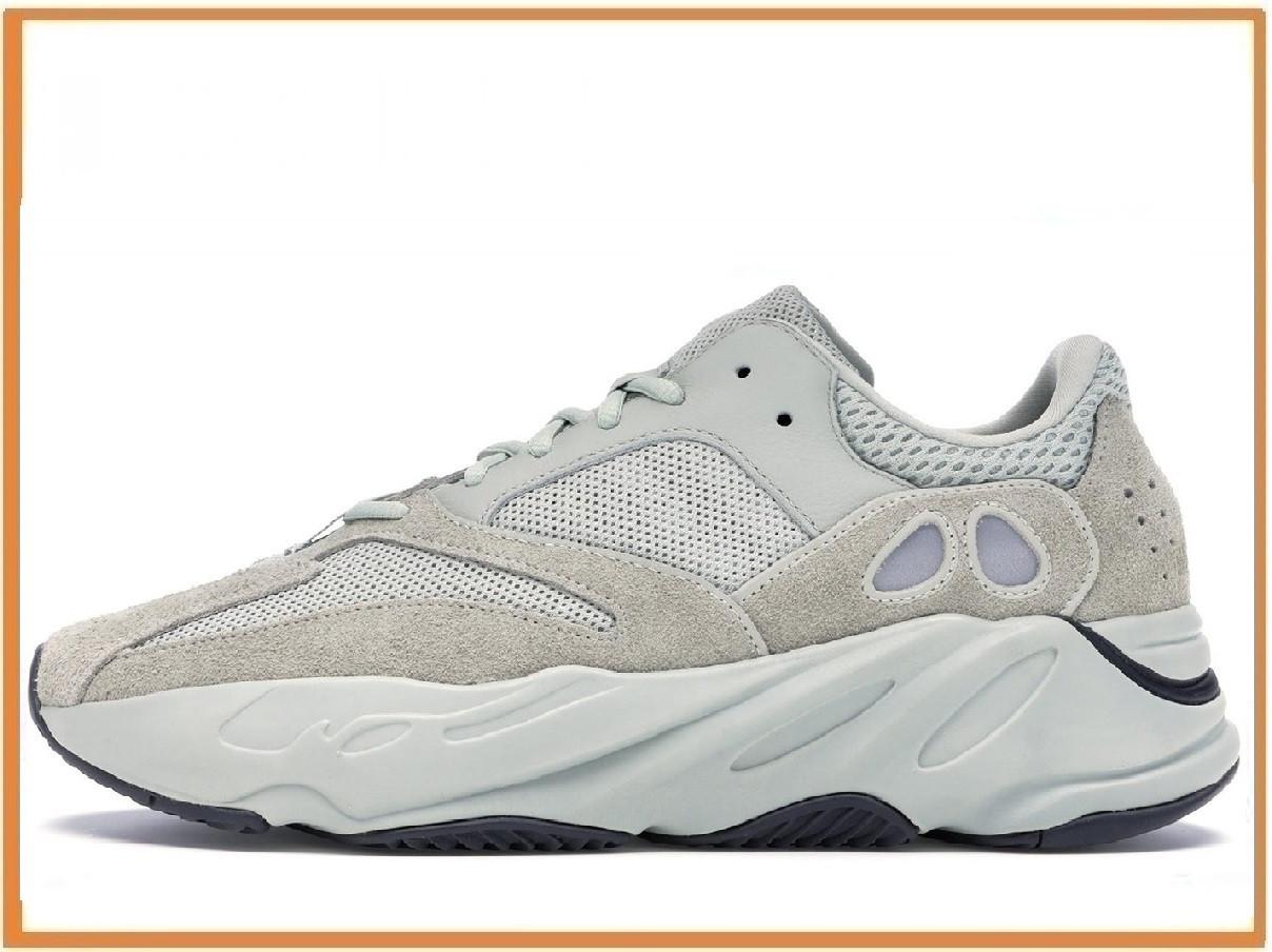 ba68c917 Мужские кроссовки Adidas Yeezy 700 Salt (адидас изи буст 700 сальт, серые) -