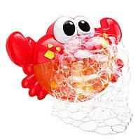 24MusicBabyTubCrabАвтоматический Bubble Blower Bubble Maker Машина Песня Ванна Игрушка в Подарок 1TopShop