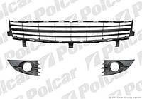 Решетки бампера переднего №1 Renault Scenic 2 06-09