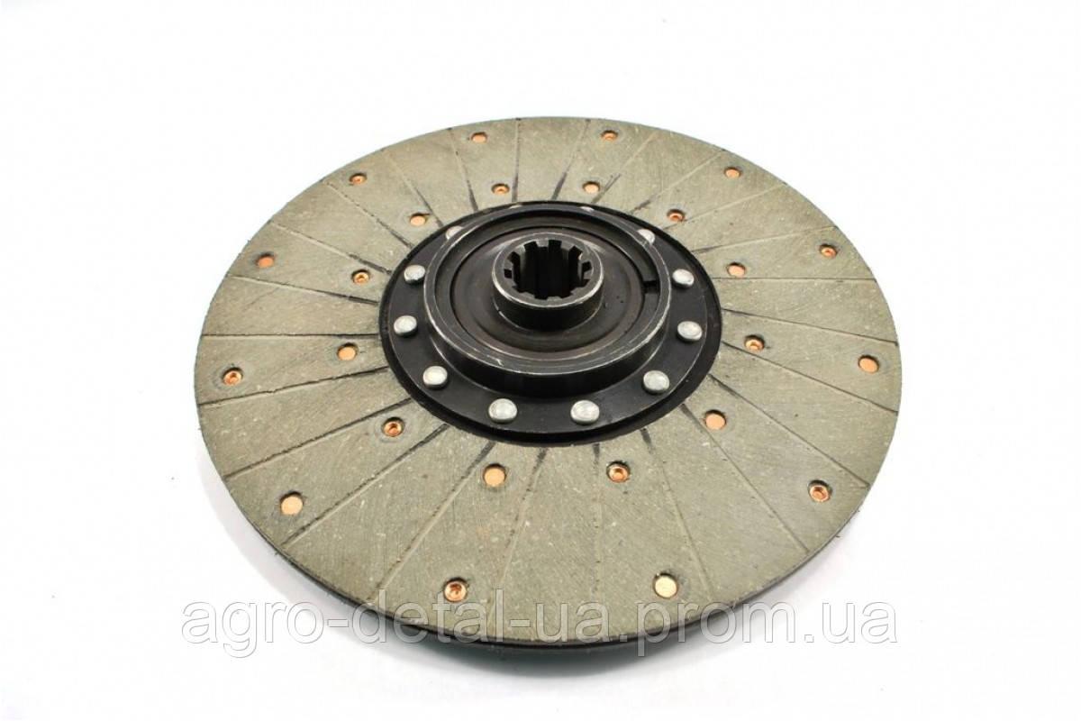 Диск ведомый 45-1604040 А4 муфты главного сцепления (диск фередо на шариках) двигателя Д 65 трактора ЮМЗ