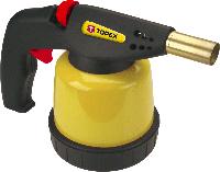 Лампа 44E141 Topex паяльная газовая, картриджи 190 г, пьезозажигание