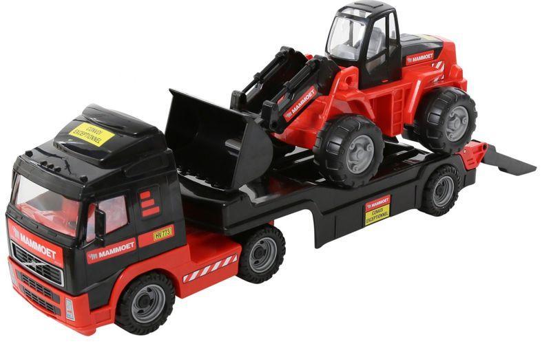 Автомобиль игрушечный, эвакуатор + бульдозер, Wader 567330