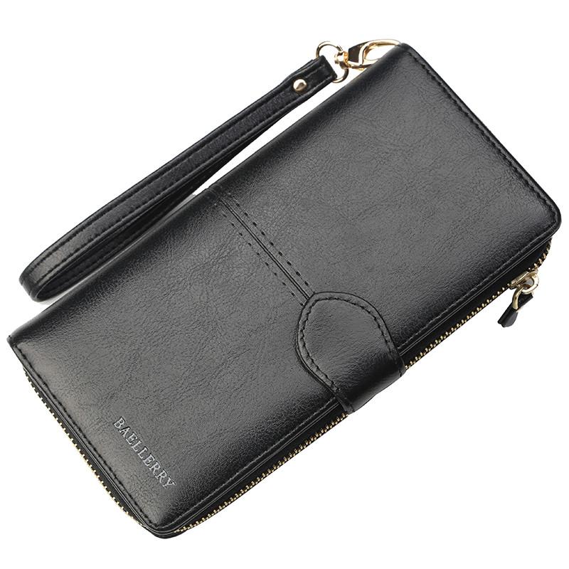 Женский кошелек портмоне Baellerry Elect New черный