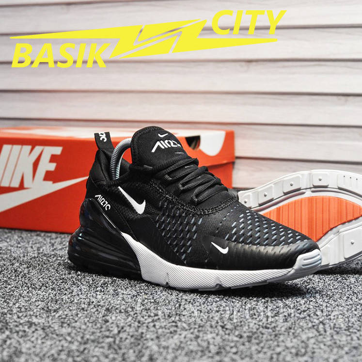 Мужские кроссовки Nike Air Max 270 Black White