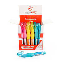 Коректор-ручка Huanyang color, 7 мл, 24 шт / уп