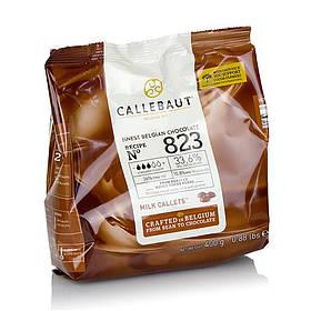 Молочний шоколад Callebaut 823-E0-D94, 33,6 %, по 0,4 кг