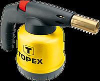 Лампа паяльная газовая, картриджи 190 г 44E142 Topex, фото 1