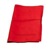 Оригінальний блокнот, купити планер або планувальник, щоденник  Youngpig «MCYR» великий, червоний (490)