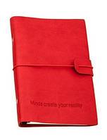 Оригінальний блокнот, купити планер або планувальник, щоденник Youngpig «MCYR» маленький червоний (487)